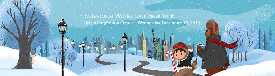 Salesforce World Tour NYC