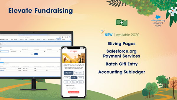 Elevate Fundraising from Salesforce.org for better fundraising software