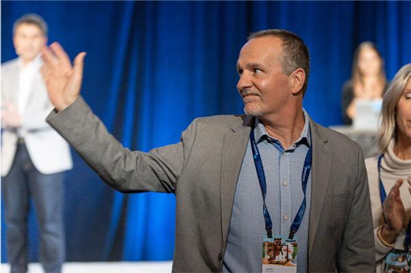 Larry Falivena, Salesforce.org and ALS awareness ambassador