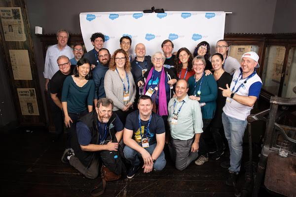 Salesforce.org MVPs gather at Dreamforce 2019!
