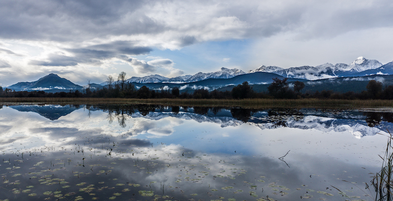Reflections of Bugaboo Park