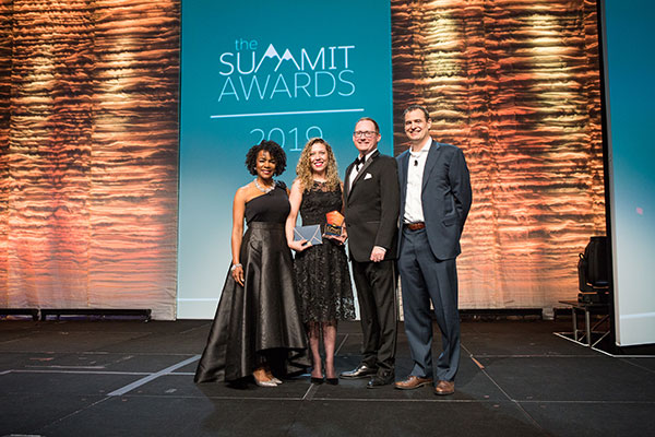 Photo from the Higher Ed Summit Awards
