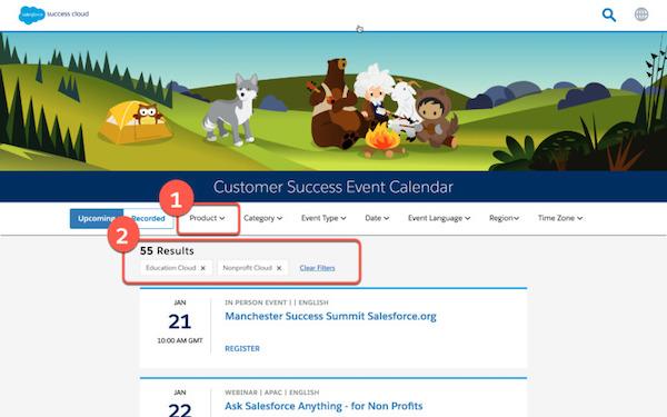 Customer Success Calendar
