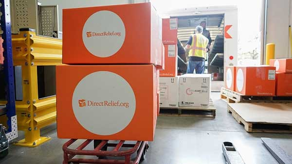 Direct Relief Shipment
