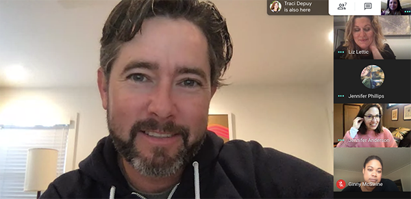 Remote work - video chat