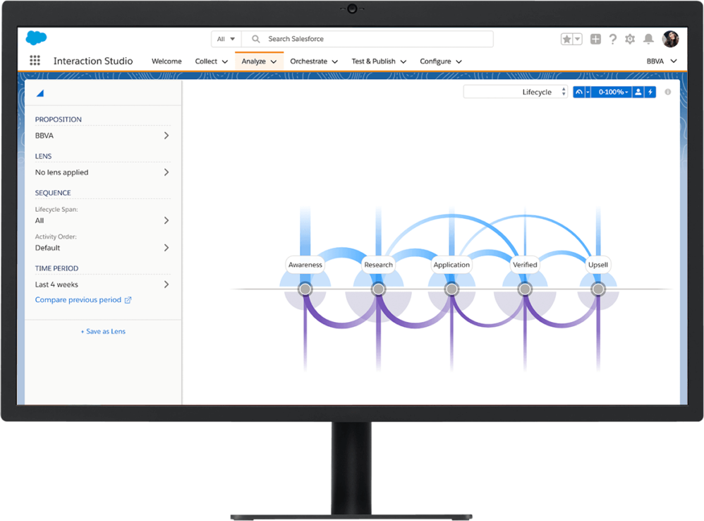 Interaction Studio product screenshot