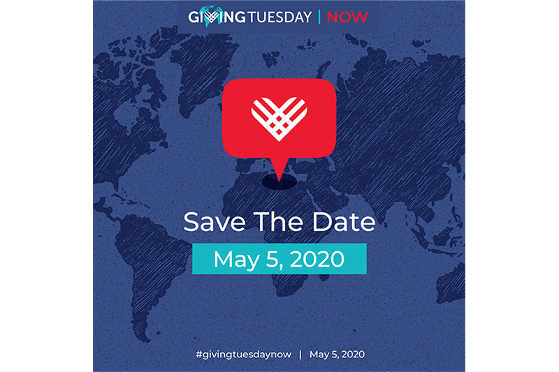Save the Date for #GivingTuesdayNow
