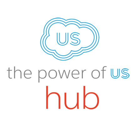 Power of Us Hub logo