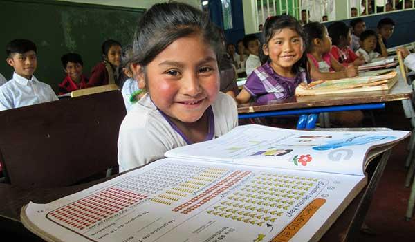 Students in buildOn school in Guatemala