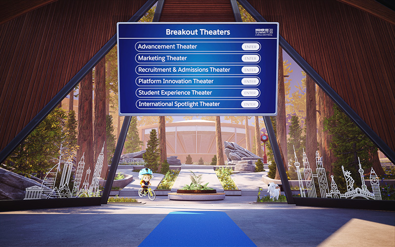 Breakout rooms at Higher Ed Summit Virtual 2020