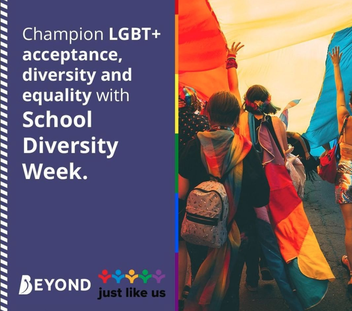 Just Like Us champions acceptance and equality in schools.