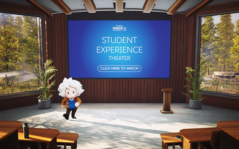 The Student Experience Theater at Higher Ed Summit 2020