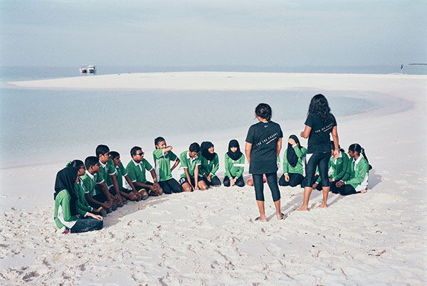 Parley Ocean School programs in the Maldives