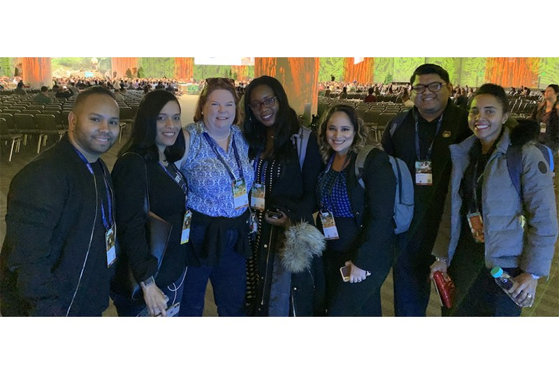 The HandsOn Connect team at Dreamforce 2019