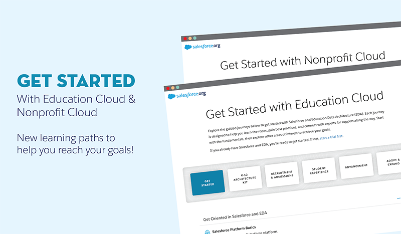 Get Started with Education Cloud and Nonprofit Cloud