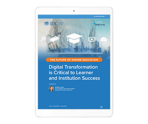 IDC White Paper on Digital Transformation - The Future of Higher Education