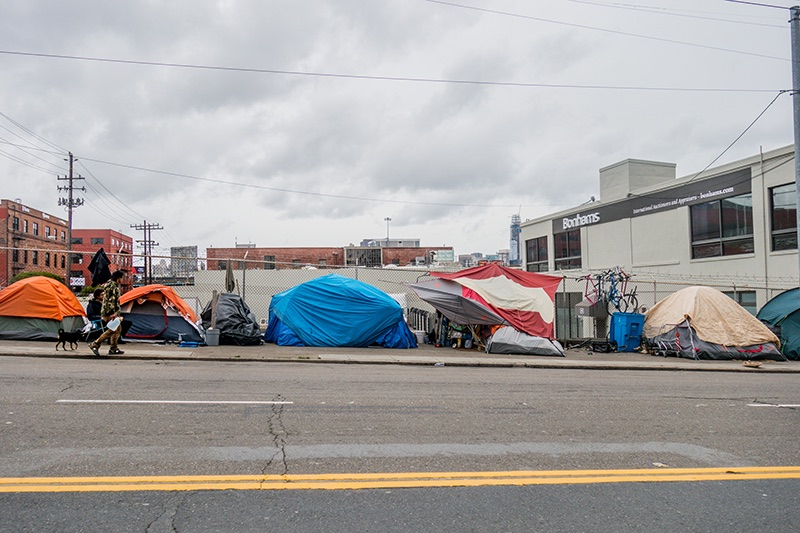 On average, 500,000 Americans experience homelessness on any given night.