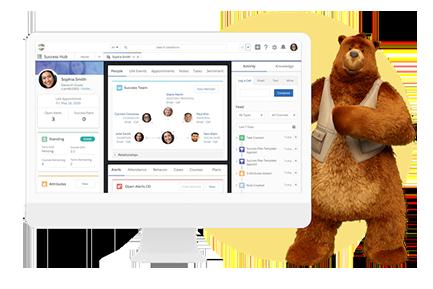 Student Success Hub Dashboard on Desktop