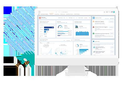 Work.com for Schools Dashboard on Desktop
