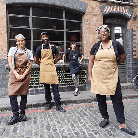 Made in Hackney's community meal chefs provide emergency food service to communities in need in the U.K.