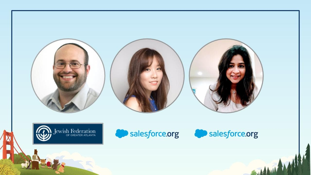 Fundraising Imperative Webinar Speakers for Salesforce.org