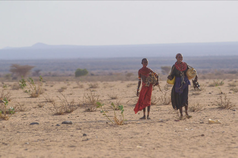 The arid region of Northern Kenya is already being hit hard by climate change.