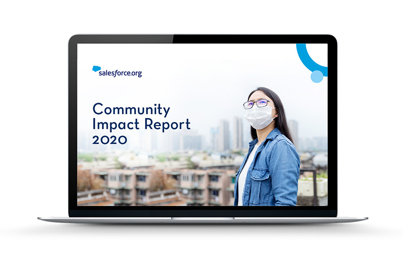 Salesforce.org Community Impact Report 2020
