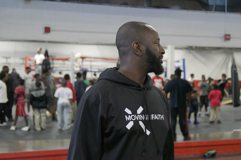 Downtown Boxing Gym Founder and CEO, Khali Sweeney.