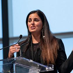 Razan Roberts, senior director for strategic engagement and communications at Salesforce.org