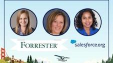 Salesforce.org webinar speakers.