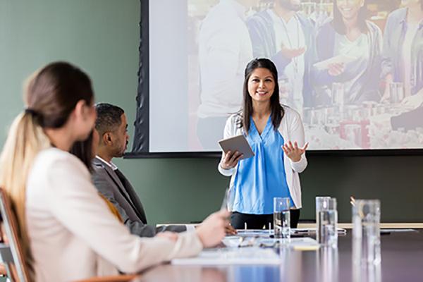 Nonprofit executives meeting