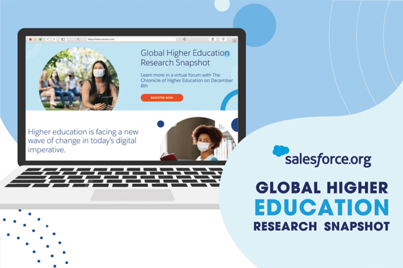 Graphic from Salesforce.org Global Higher Education Research Snapshot