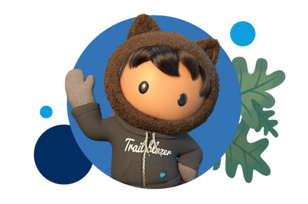 Astro wearing a trailblazer hoodie and waving