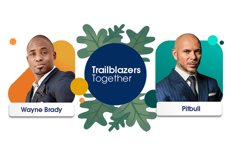 Wayne Brady will host Trailblazers Together, with Pitbull making a special appearance.
