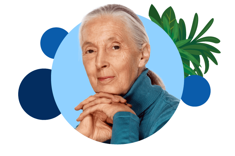 Jane Goodall - Salesforce.org Nonprofit Summit 2021