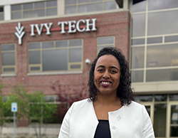 Doneisha Posey, Vice President of Diversity, Equity, and Belonging at Ivy Tech Community College