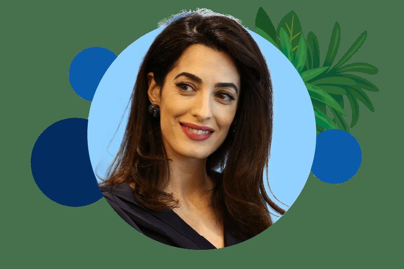 Amal Clooney Headshot