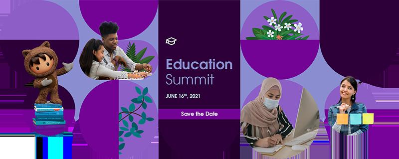 Education Summit 2021 banner