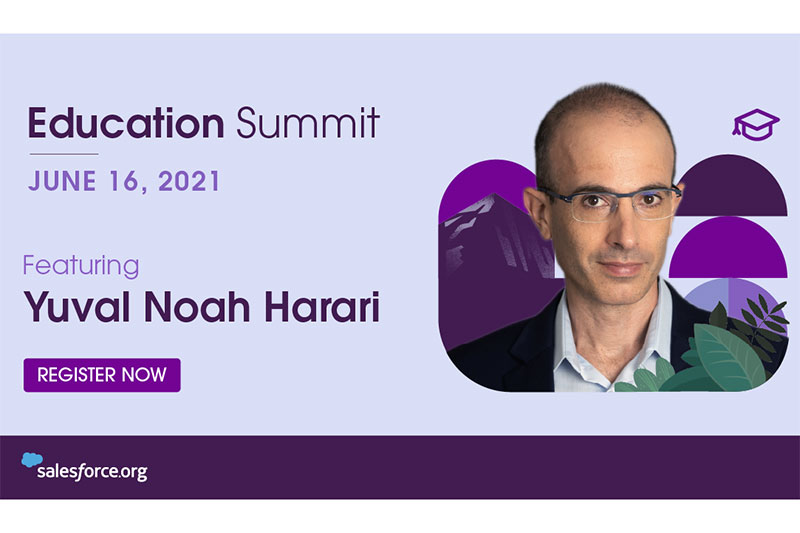 Education Summit 2021 is on June 16, 2021, featuring Yuval Noah Harari