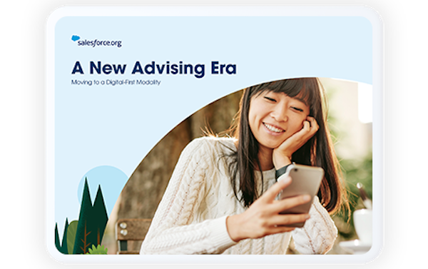 Image of downloadable student advising guide