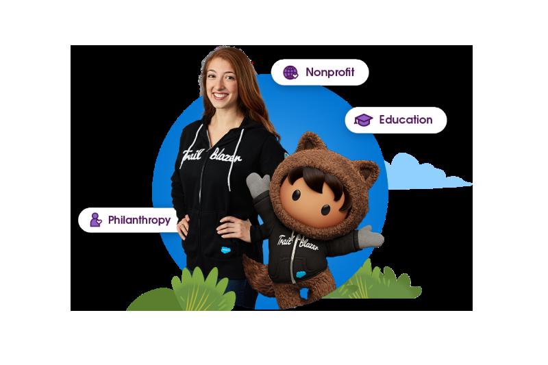 Trailblazer with Astro in trailblazer hoodie