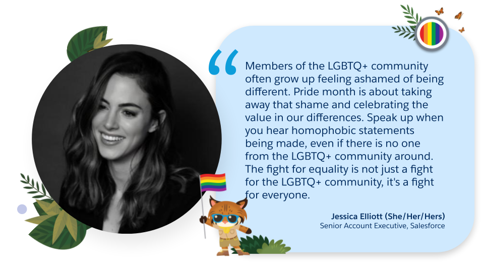 Jessica Elliot (she/her/hers), Senior Account Executive at Salesforce quote