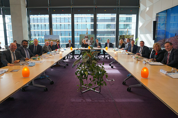 Roundtable launch with business leaders in Australia