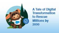 Salesforce.org webinar event card with Astro