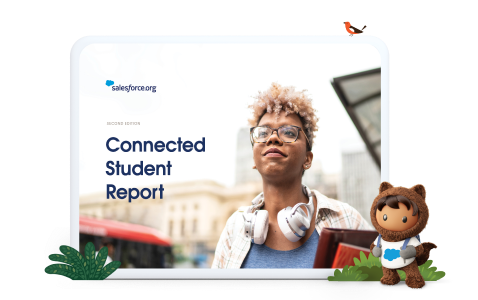Connected Student Report second edition cover