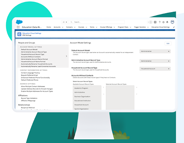 Screenshot of new feature