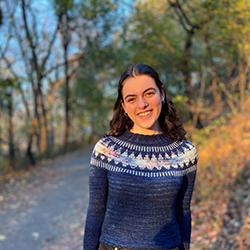 Julia Cosgrove, Futureforce intern at Salesforce