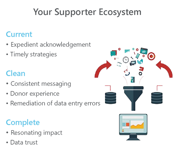 Infographic about supporter ecosystems