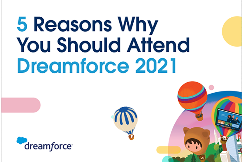 5 reasons why you should attend Dreamforce 2021