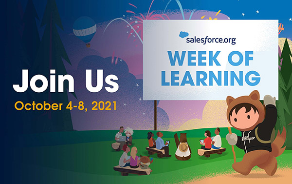 Week of Learning graphic